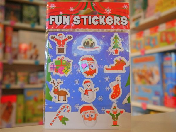 Fun Stickers Noël