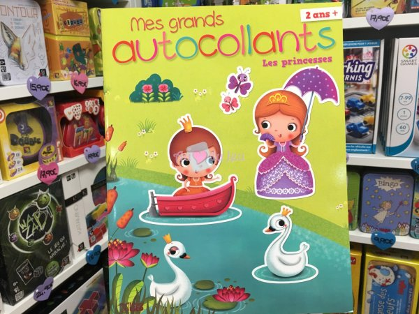 Grands Autocollants Princesses Editions Lito