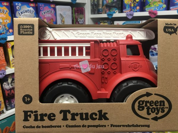 Green Toys - Camion Pompier Green Toys