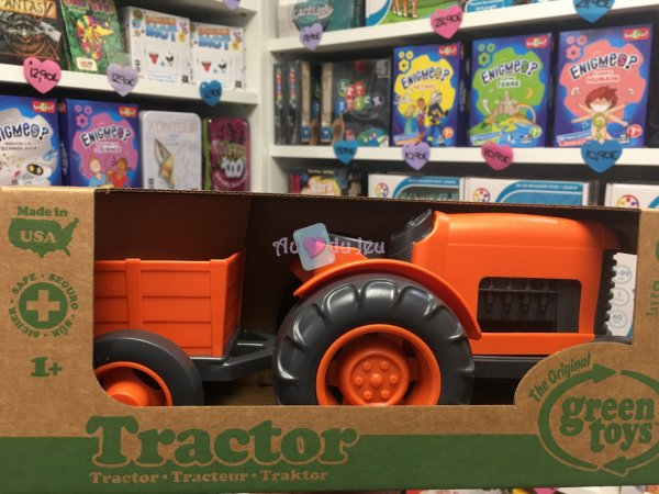 Green Toys - Tracteur Green Toys