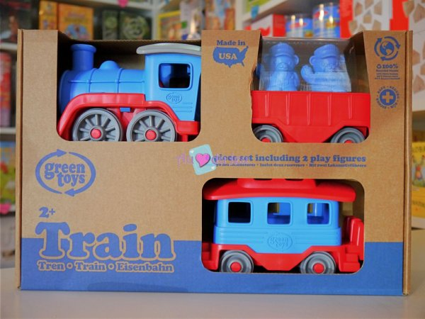 Green Toys - Train Bleu