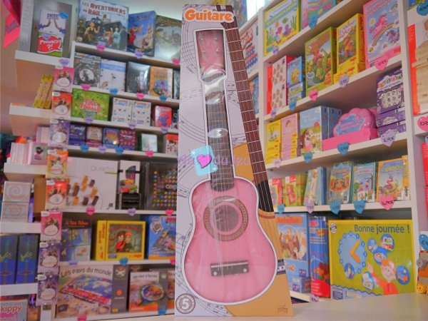 Guitare Rose Ulysse