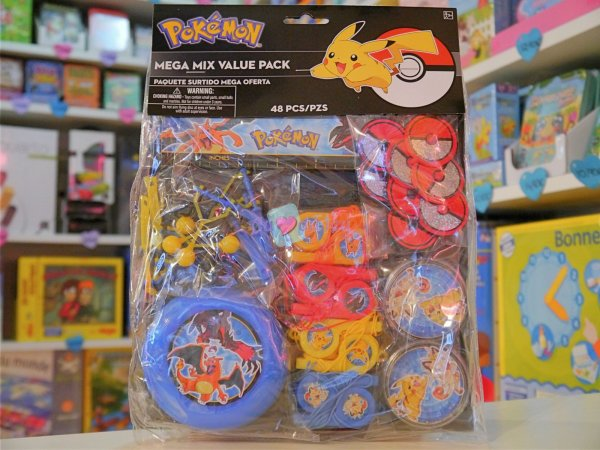 Kit 8 Sacs Bonbons Pokemon