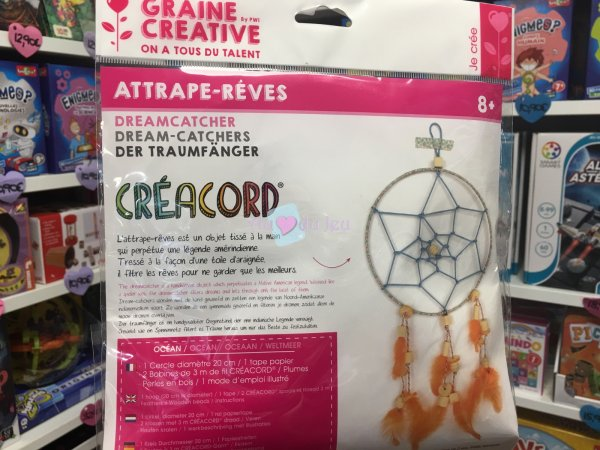 Kit Attrape Rêve Creacord Ocean Graine Creative