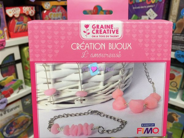 Kit Bijoux Fimo l'Amoureuse Graine Creative