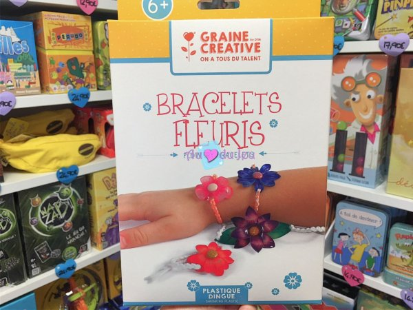 Kit Bracelets Plastique Dingue Graine Creative