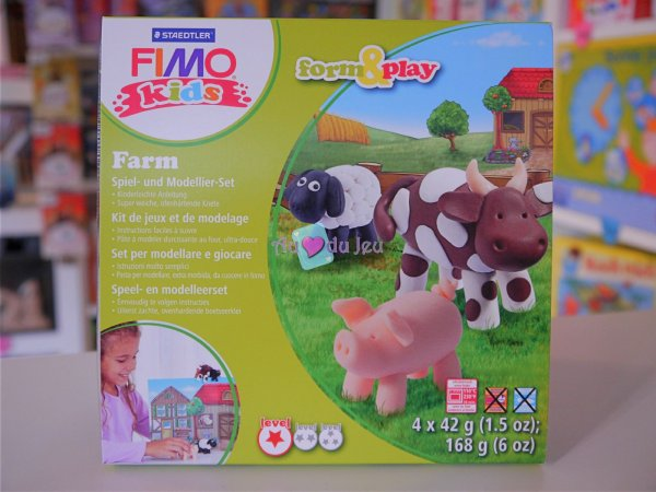 Kit Fimo Kids - Ferme Graine Creative