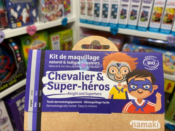 Kit Maquillage Chevalier & Super-heros Namaki