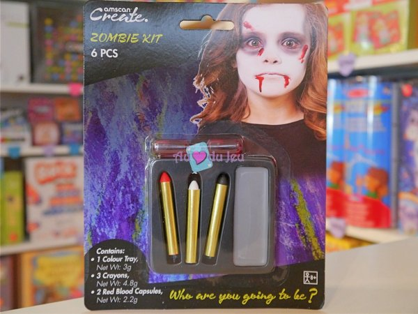 Kit Maquillage Enfant Zombie Halloween