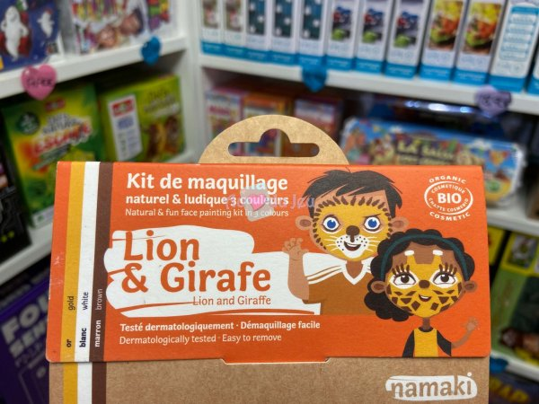 Kit Maquillage Lion & Girafe Namaki