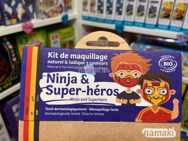 Kit Maquillage Ninja & Super-heros Namaki