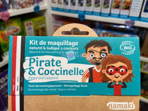 Kit Maquillage Pirate & Coccinelle Namaki