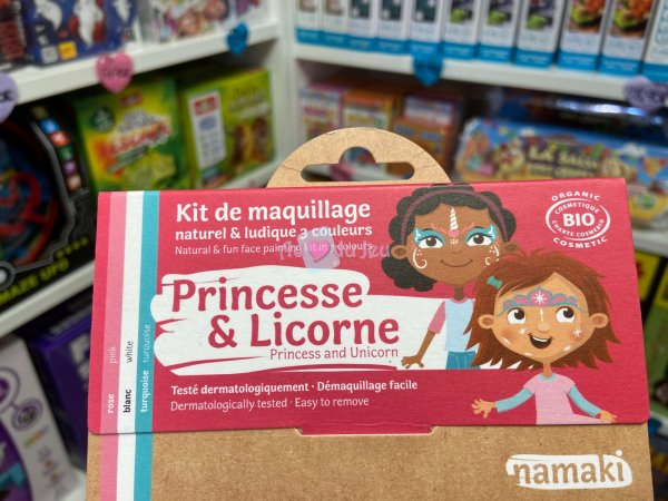 Kit Maquillage Princesse & Licorne Namaki