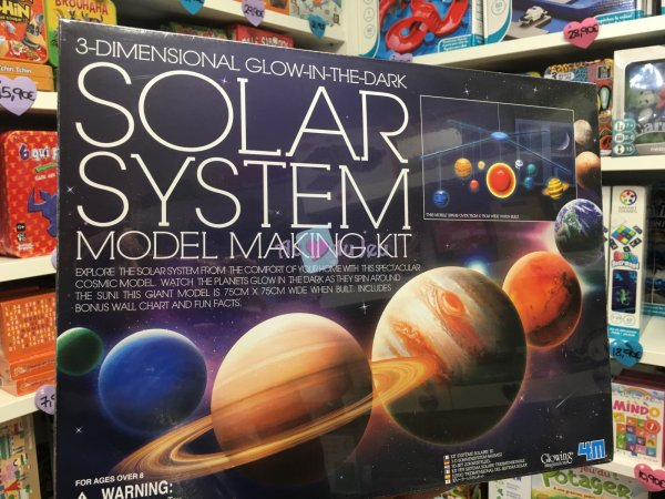 Kit Mobile Systeme Solaire 3D - Kidzlabs