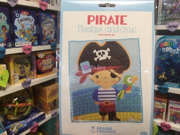Kit Mosaique Souple Pirate Graine Creative