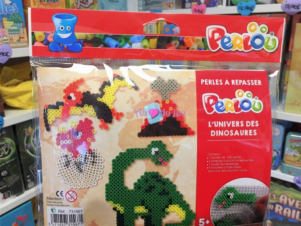 Kit Perlou Dinosaures Graine Creative