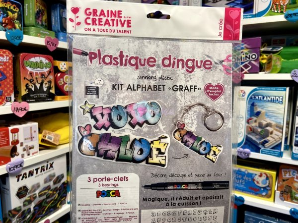 Kit Plastique Dingue - Alphabet Graine Creative