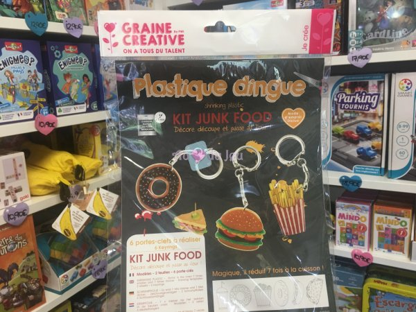 Kit Plastique Dingue Junk Food Graine Creative