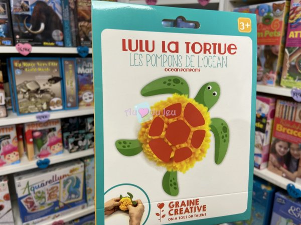 Kit Pompons Tortue Graine Creative