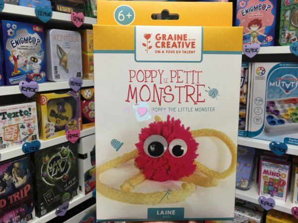 Kit Poppy Le Petit Monstre Graine Creative