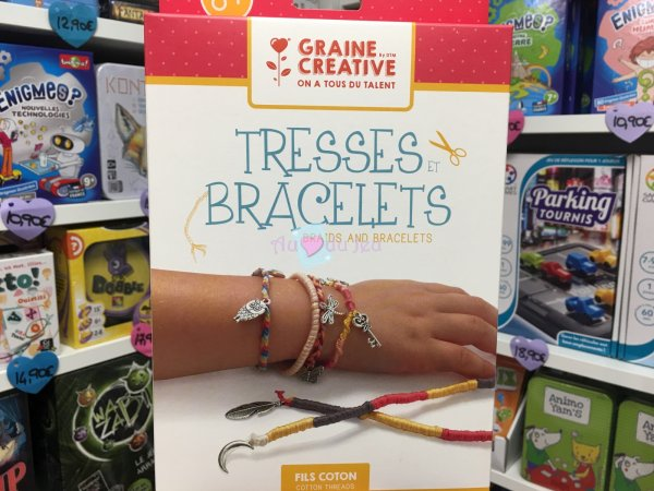 Kit Tresses et Bracelets Graine Creative