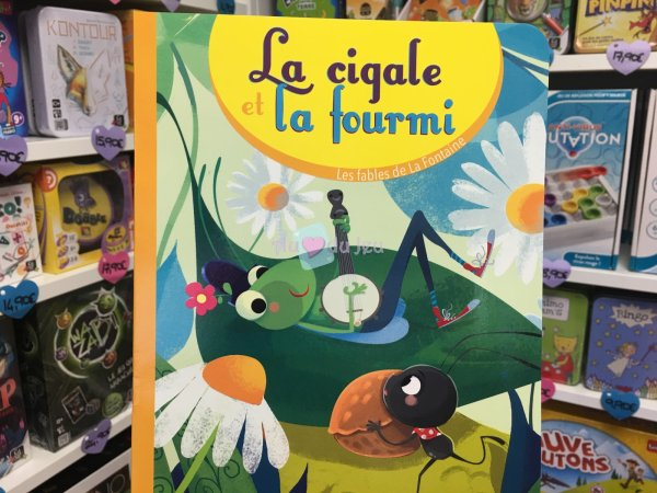 La Cigale et La Fourmi Editions Lito