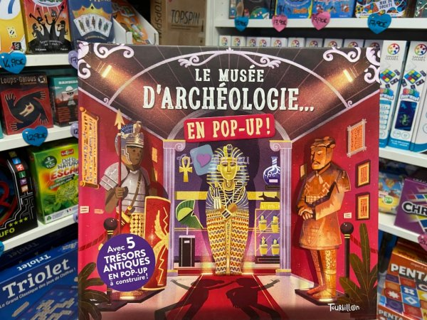 Le Musee d'archeologie en Pop-up