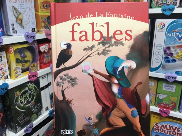 Les Fables De La Fontaine Editions Lito