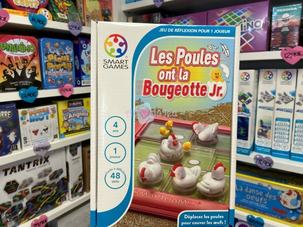 Les Poules Ont La Bougeotte Jr Smart Games