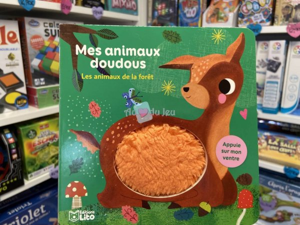 Mes Animaux Doudoux Foret Editions Lito