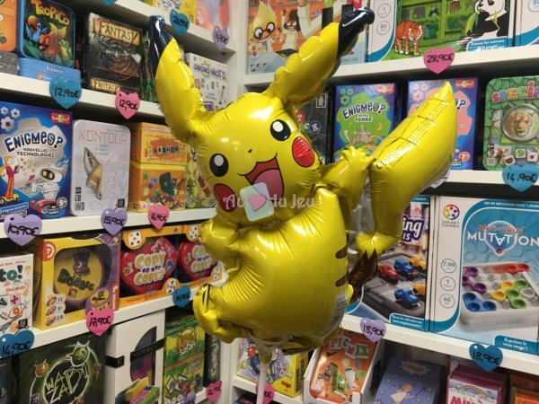 Mini Ballon Pikachu Pokemon