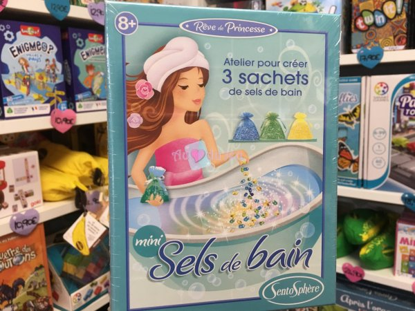 Mini Sels de Bain APLI Kids