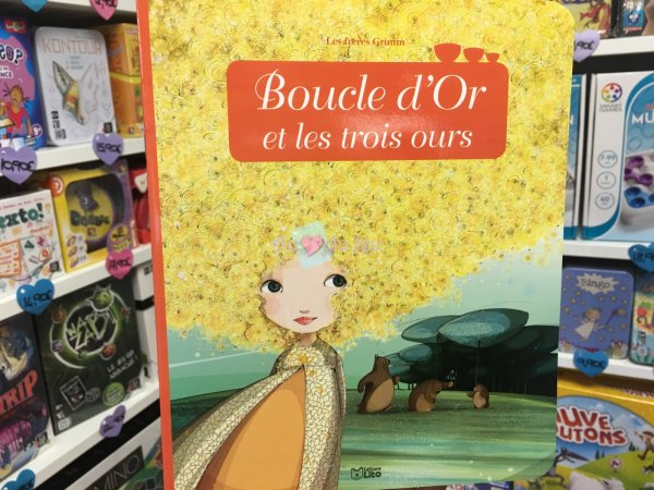 Miniconte Boucle d'or Les 3 Ours Editions Lito