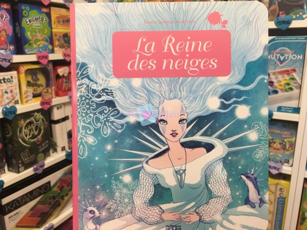 Miniconte La Reine Des Neiges Editions Lito