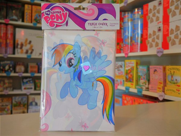 Nappe Anniversaire My Little Pony