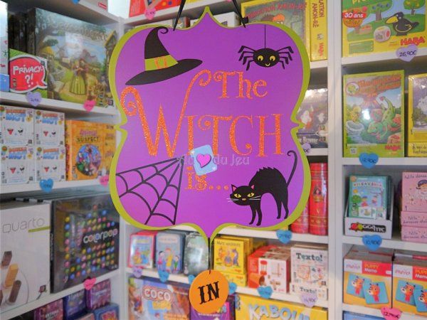 Panneau The Witch Is Halloween