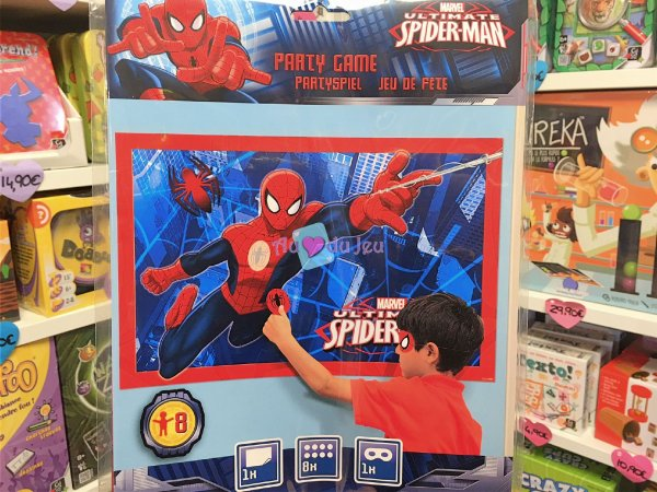 Party Game - Jeu Spiderman