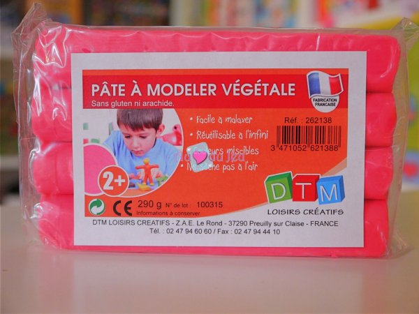 Pate A Modeler Vegetale Rose Graine Creative