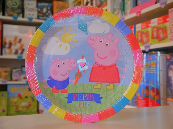 Assiettes Peppa Pig