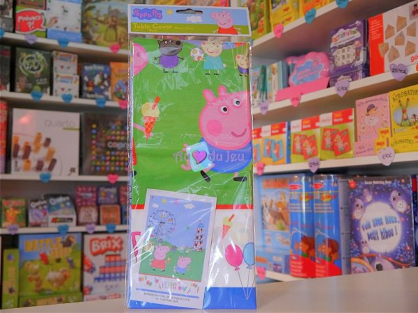 Nappe Anniversaire Peppa Pig