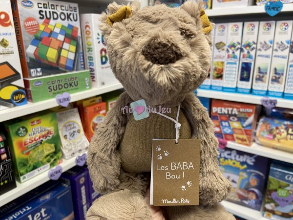 Petit Ours Les Baba Bou Moulin Roty