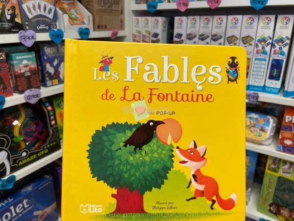 Pop-hop : Les Fables de la Fontaine Editions Lito