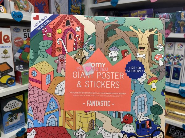 Poster & Stickers - Fantastic