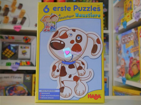 Premiers Puzzles - Animaux Haba