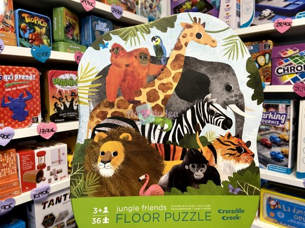 Puzzle 36 Pièces Jungle Crocodile Creek