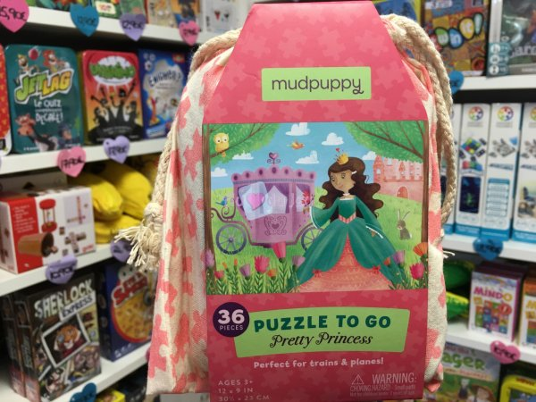Puzzle 36 Pièces Princesses Crocodile Creek