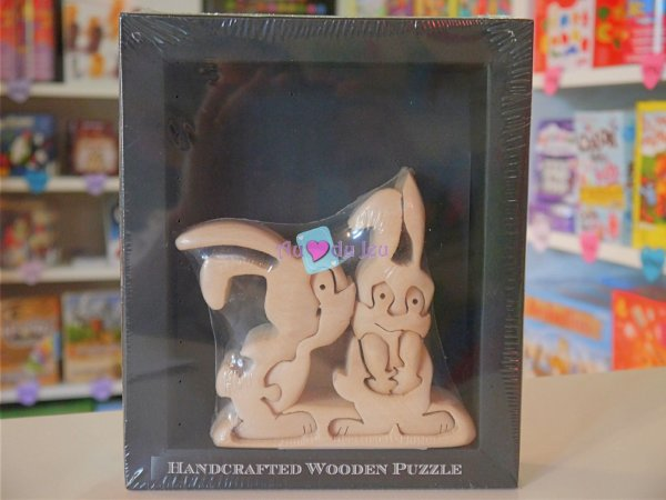 Puzzle 3D Couple Lapin
