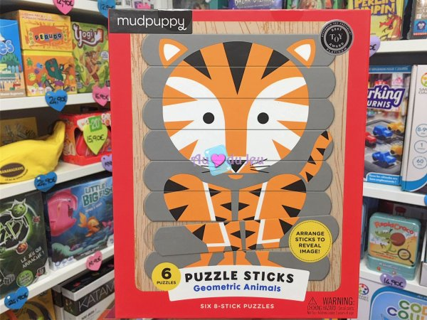 Puzzle Sticks Animaux