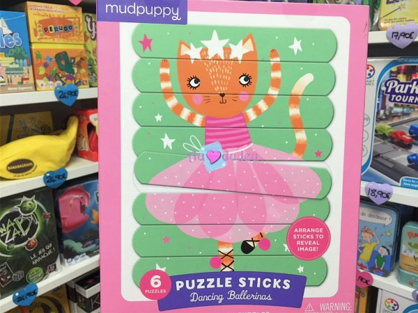 Puzzle Sticks Ballerines