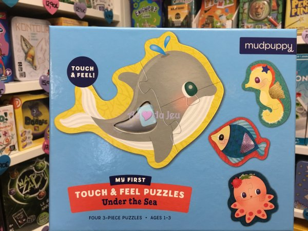 Puzzle Touch & Feel - Animaux Sous-marins BERTOY